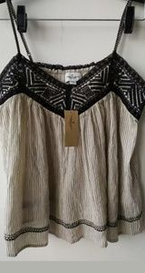 NWT American Eagle Outfitters Embroidered Top